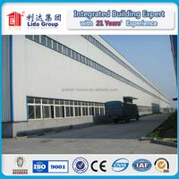 Industrial Customized Design Prefab Warehouse