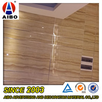 Cheap Oem & Odm Faux Marble Design decorative price pvc wall panel