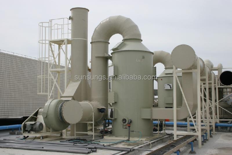 Co2 Scrubber Gas Cleaner Wet Scrubber Absorption Column