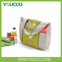 Promotional polyester nylon shopping bags foldable grocery shopping bags