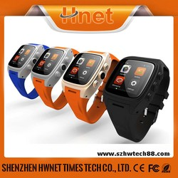 Newest Bluetooth Android 3g GPS Watch Phone With Heart Rate Monitor