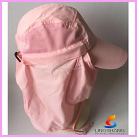 UV 50+Protection Outdoor Multifunctional Flap Cap with Removable Sun hat Shield and face Mask Perfect for Fishing Hiking