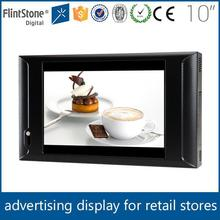 FlintStone motion sensor activated instore In-store Advertiser