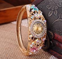New vogue women wrist bracelet watch,china factory wholesale support mixlod(SWTPR1086)
