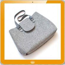 Hot promotion eco friendly felt single strap shoulder bag