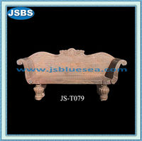 Outdoor Marble Antique Garden Stone Bench For Sale