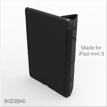 Cute tablet cover for iPad mini 3 leather case, minimal collection