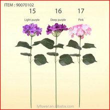 Durable Cheapest artificial hydrangea flowers bonsai