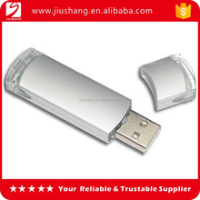 Hign quality plastic white usb pen drive with factory direct supply