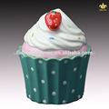 Tipo de cerâmica e eco- friendly recurso decorado cerâmica pote de biscoitos com desenho de cupcake
