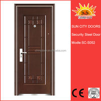 Hot sale high quality inexpensive anti theft iron door SC-S052