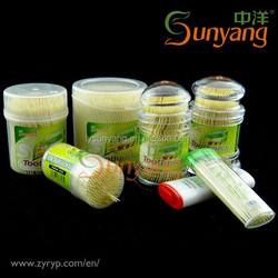 2015 Sunyang Facotry bamboo TOOTHPICK