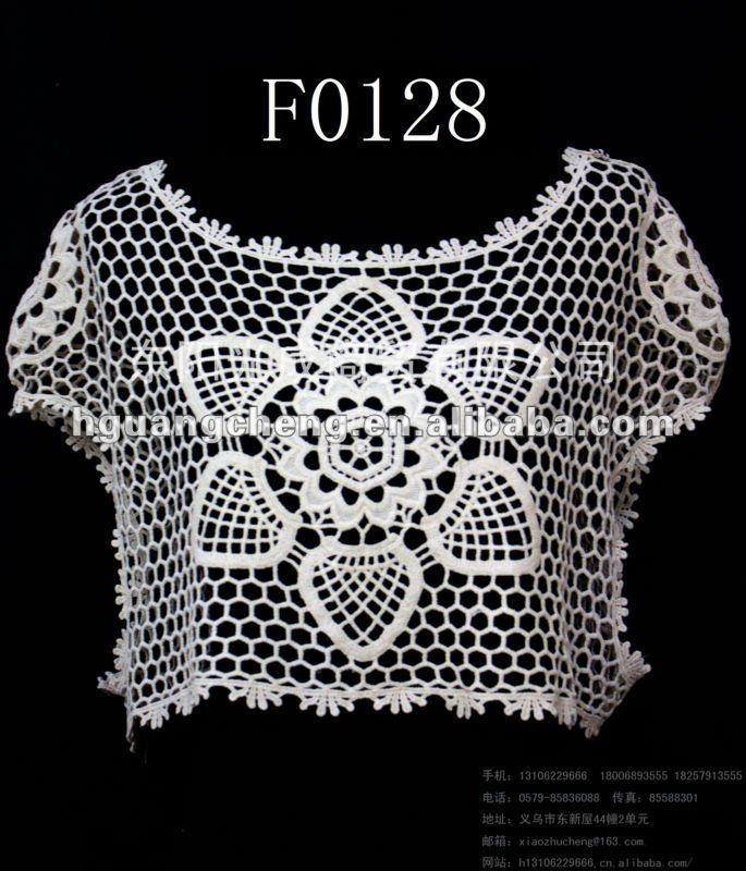 Crochet Lace Tops Free Patterns