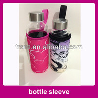 Protective sleeves for glass bottle