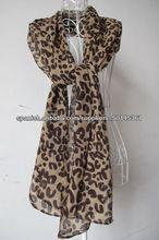 pañuelo de leopardo impresa