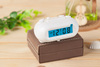 Vary small led digital desk clock