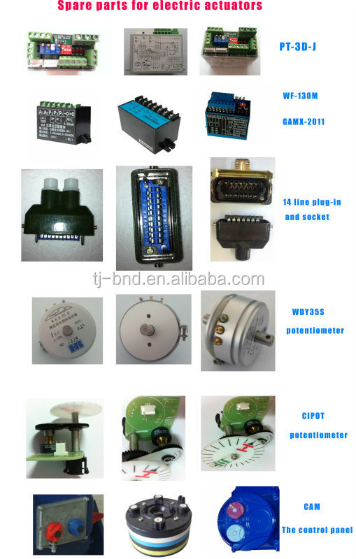 Bernard servo motor for AS200 electric actuator
