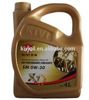 High Density Manufacturer API Car Oil Change