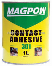 High performance contact adhesive cement