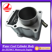 motorcycle engine cylinder body zongshen 250 parts
