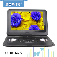 """manufacture wholesale guality cheap flat 2015 14.1"""" factory stock cheap portable dvd player kid friendly portable evd dvd player"""
