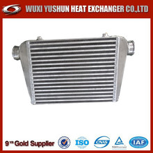 manufacturer of custom made aluminum plate bar racing car intercooler radiator