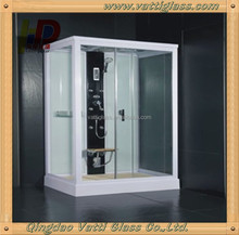 eco-friendly low-voltage electric switchable glass for doors, office partition/ glass wall, skylight, shower enclosure