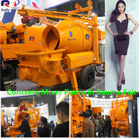Concrete Mixer Pump with 4kw Mixing Motor