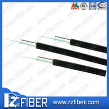 Indoor butterfly 4 Core ftth self-supporting cable ftth fiber optical cable