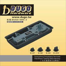 Single Cylinder Two Way Operating Spring Hinges Door Closer Mechanism, Adjust Hydraulic Door Closer DUGO 1800-3