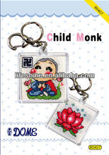 fashionable smart key kits design with a child monk for gifts collection