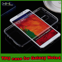 for samsung galaxy note4 ultra thin case tpu, Ultra thin 0.2mm Clear soft for samsung note4 case