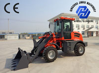 ZL10 mini 4WD loader with CE and quick hitch