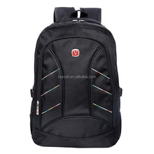 Top selling laptop backpack 1680D for school students and travellers