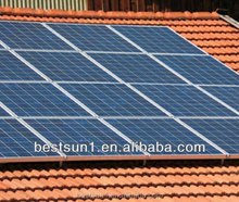 4000w Complete with battery and brackets solar panel system