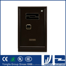 High volume lowcost Ningbo tool hard steel LED top 10 home fingerprint hotel safe box