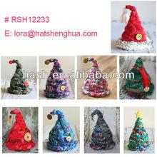 (RSH12233) Knitted Santa Hat