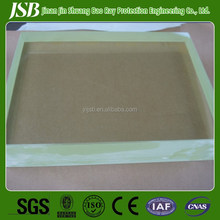 x ray radiation shielding lead glass for ct room