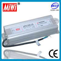 Hot Sale Waterproof IP67 100W 12V 8.4A Led Power Supply, 100 watt led power supply,100w 12v led smps