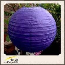 20'' Deep Purple Round Chinese Paper Lanterns Wedding Brithday Party Decor