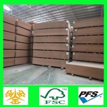 1830*3660*12/15/16/18mm/de madera de grano medio tablero de fibra