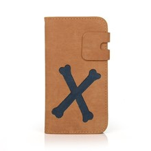 Factory price PU leather cell phone case for Samsung Galaxy S4