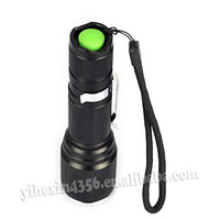 XML-T6 Zoom Bike Flashlight Led Torch Light Manufacturers