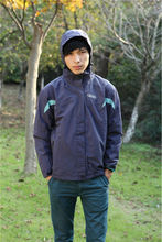 Rain coat jacket sports rain wear with removeable hood for adults