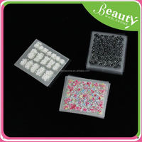3d bows for nails ,H0T062 alloy 3d rhinestone nail art , crystal nail stickers