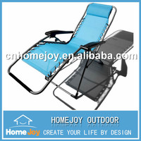 High quality zero gravity folding reclining beach chair
