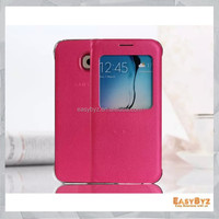 new arrival for samsung galaxy s6 case original high quality S6 phone case for Samsung galaxy S6 flip cover leather cases