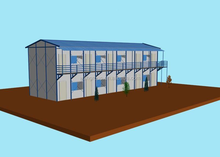lowes sandwich panel prefab house kits for camp/dormitory