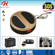only 27g best hidden SOS button panic Mini Key Chain GPS Tracker