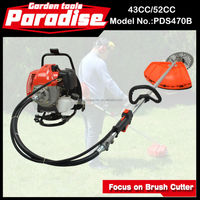 Heavy duty Grass Trimmer PD-BG001 Gas Backpack Brush Cutter 52CC Grass Cutter